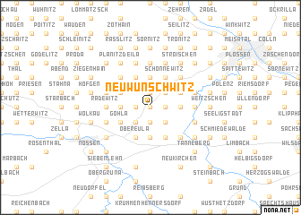 map of Neuwunschwitz