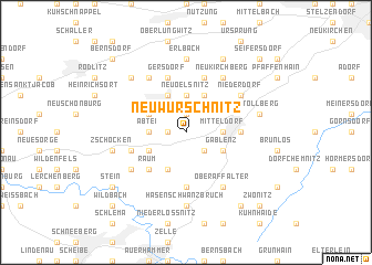 map of Neuwürschnitz