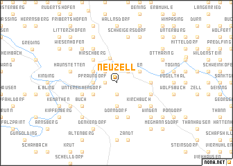 map of Neuzell