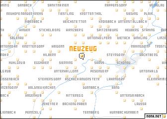 map of Neuzeug