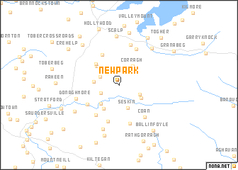map of Newpark