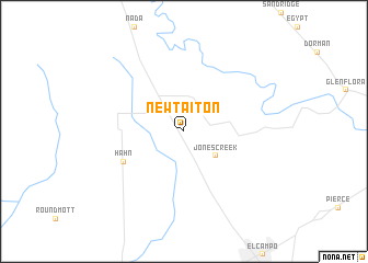 map of New Taiton