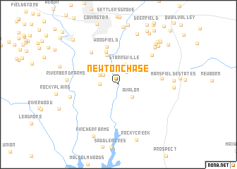 map of Newton Chase
