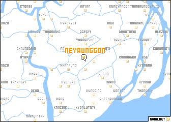map of Neyaunggon
