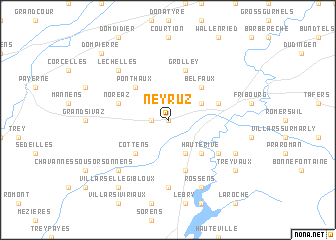 map of Neyruz
