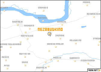 map of Nezabudkino