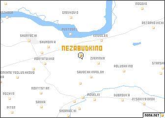 map of Nezabudkino