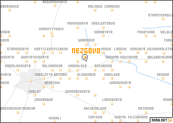 map of Nezgovo