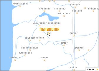 map of Ngã Ba Ðình