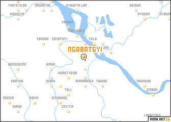map of Ngabatgyi