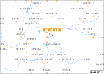 map of Ngabat-in