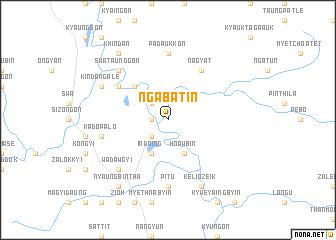 map of Ngabat-in