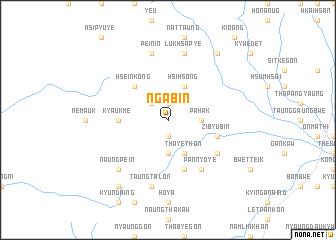 map of Nga-bin