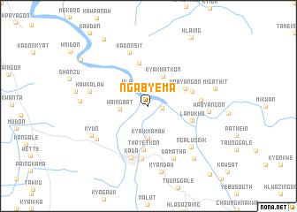 map of Ngabyema