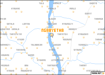 map of Ngabyetha
