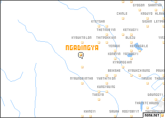 map of Ngādingya