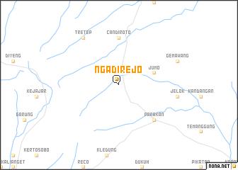map of Ngadirejo