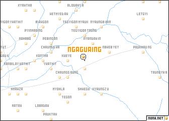 map of Ngagu-aing