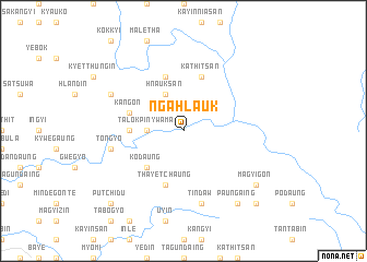 map of Ngahlauk