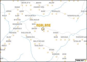 map of Ngalane