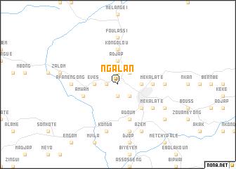 map of Ngalan