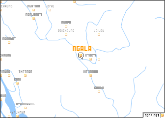 map of Ngala