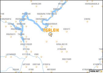 map of Ngaleik