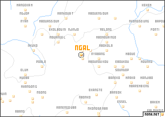 map of Ngal