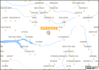 map of Ngaminme