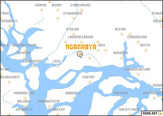 map of Nganabya