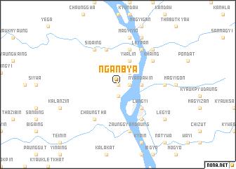 map of Nganbya
