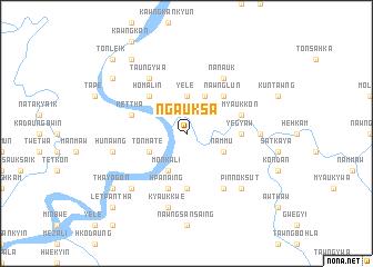 map of Ngauksa