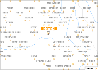 map of Ngayaho