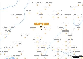 map of Ngayewin