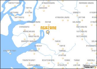 map of Ngazane
