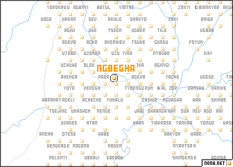 map of Ngbegha