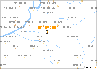 map of Ngek-yawng