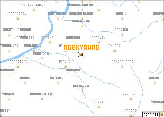 map of Ngek-yawng