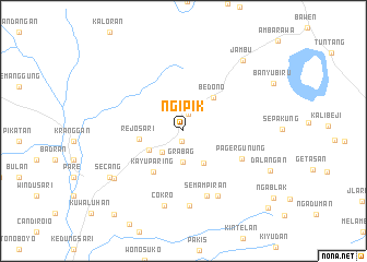 map of Ngipik
