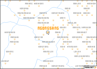 map of Ngöngsang