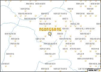 map of Ngöngsang