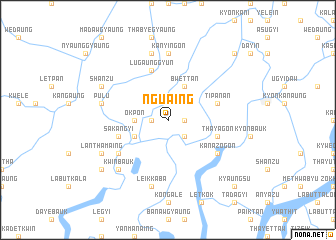 map of Nguaing