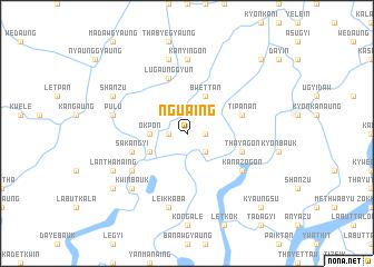 map of Nguaing