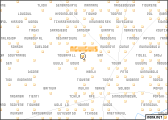 map of Nguiguis