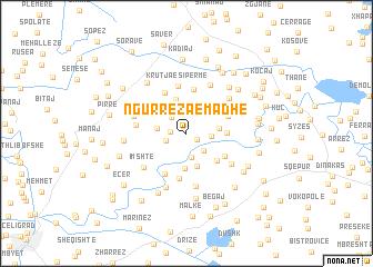 map of Ngurrëza e Madhe