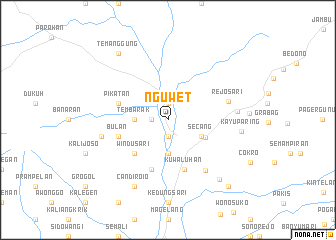 map of Nguwet
