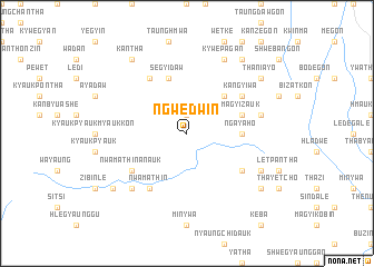 map of Ngwedwin