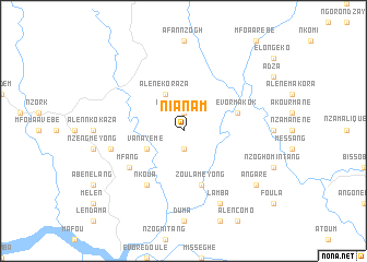 map of Nianam