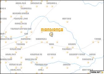 map of Niandianga