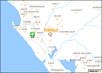 map of Niandji